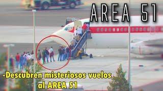 DESCUBREN VUELOS SECRETOS AL ÁREA 51 (Caso Real) Janet Airlines