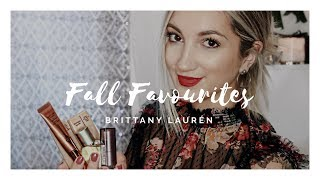 CURRENT FALL FAVORITES: FASHION & BEAUTY | Brittany Laurén
