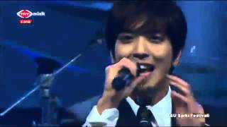 CNBLUE - Cindirella TURKEY (ABU TV Song Festival in ISTANBUL)
