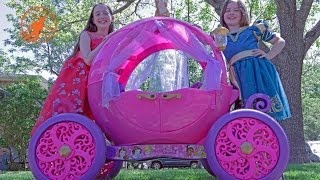 Little Princesses 5 -The Mechanic, The Ride On Pink Disney Princess Carriage, and The Lesson