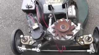 R/C Lawn Mower Homemade Radio Controlled