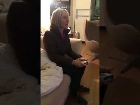 Dog Looks Concerned About Woman Playing Video Game - 986552