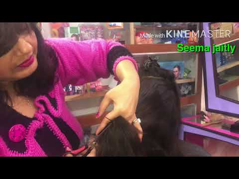 Multi Steps For Long Hair💇‍♀️Multi V Shape Layers For Long Hairs Seema Jaitly