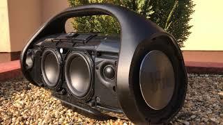 Bass test - JBL Boombox
