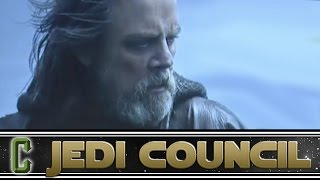 Luke's History Will Be Explained in Episode 8 Says Director Rian Johnson - Collider Jedi Council
