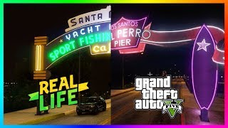 GTA 5 VS REAL LIFE! - Comparing Grand Theft Auto 5