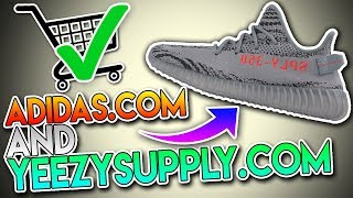 *100% EASIEST* WAY TO COP THE YEEZY BOOST 350 V2 BELUGA 2.0 ON ADIDAS.COM & YEEZYSUPPLY! BEST METHOD