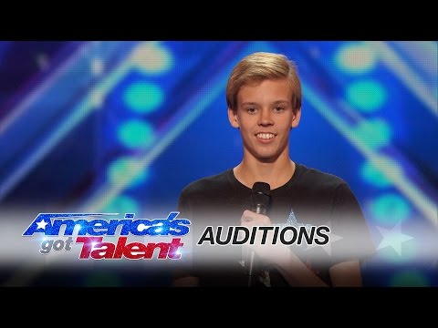 Cody The Twirler: 14-Year-Old Puts a Fun Spin on Baton Twirling - America's Got Talent 2016