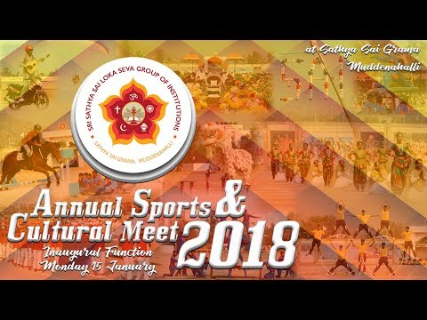 Xxx Mp4 Sri Sathya Sai Annual Sports And Cultural Meet 2018 15 January Morning 3gp Sex