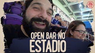 FIQUEI BEBADO NA AREA VIP DO ORLANDO CITY (OPEN BAR)