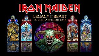 Iron Maiden - Legacy Of The Beast European Tour 2018: Tickets On-sale Now!