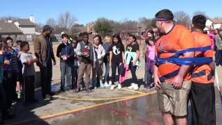 River Trails Apex Fun Run, Day 8 - Elvis Andrus Duct Tape Water Balloon Challenge (Part Two)