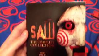 Unboxing Saw the complete collection blu Ray