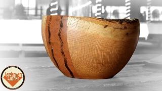 Segmented Chevron Wedding Bowl