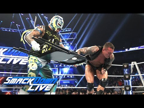 Xxx Mp4 Rey Mysterio Attacks Randy Orton With A Chair SmackDown LIVE Dec 11 2018 3gp Sex