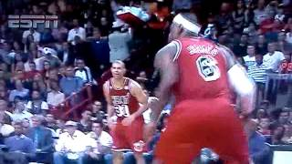 Lebron epic flop against clippers