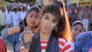 Comedy Scenes   Hindi Comedy Movies   Raveena Bribes Shakti Kapoor   Taqdeerwala   Hindi Movies