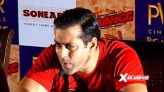 Salman supports SRK?
