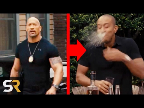 10 Improvised Movie Scenes That Made Actors React Out Of Nowhere