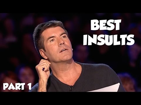 Simon Cowell Best Insults PART 1 SAVAGE