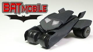 How To Make A Batman Car Out Of Paper - (Batmobile)