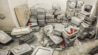 Bunker under chemical laboratory FULL of equipment