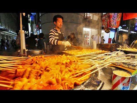 Xxx Mp4 KOREAN STREET FOOD Myeongdong Street Food Tour In Seoul South Korea CRAZY Korean Food SEAFOOD 3gp Sex