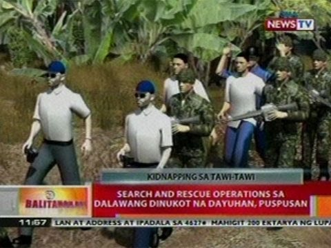 BT: Search and rescue ops sa 2   dinukot na dayuhan, puspusan
