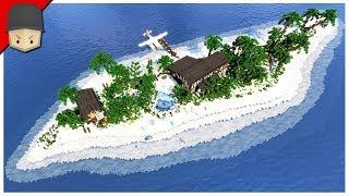 Minecraft - Paradise Island Resort & House