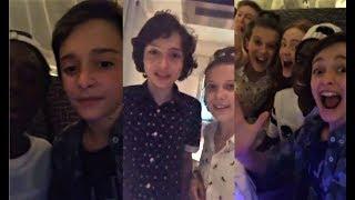Stranger Things Cast Livestream Q&A Session