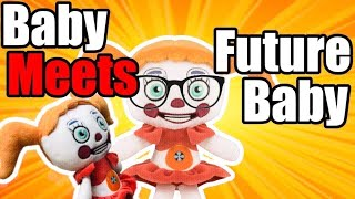 FNAF Plush - Circus Baby Meets Baby From The Future