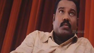 Kalabhavan Mani As A Powerfull Villain    Dheerudu Movie Scenes