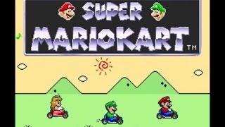 Super Mario Kart (1): Mushroom Cup [50cc]
