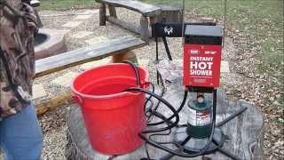 Zodi Camp Shower