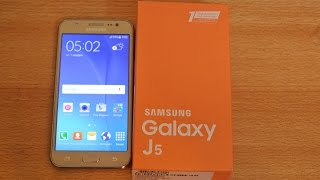 Samsung Galaxy J5 GOLD - Unboxing HD