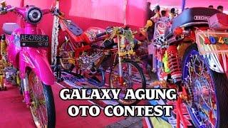 KONTES MODIFIKASI MOTOR DI GALAXY AGUNG OTO CONTEST 2016