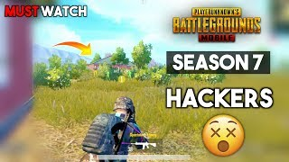 PUBG Mobile Season 7 Hackers Not Banned Why? PUBG MOBILE CONQUEROR LEAGUE GAMEPLAY