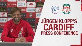 Jürgen Klopp's Pre-match Press Conference   Cardiff City