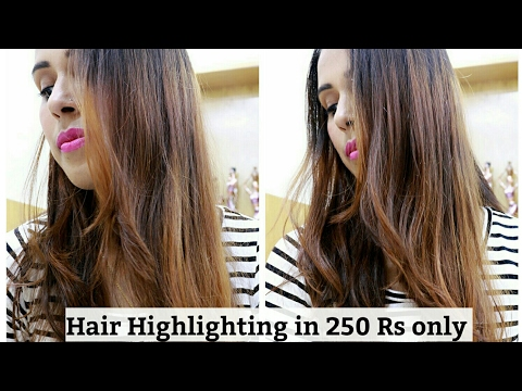 Xxx Mp4 Hair Highlighting At Home In Just 250 Rs Only Super Beauty J 3gp Sex