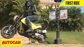Honda Navi | First Ride | Autocar India
