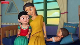 சாய்ந்தாடம்மா சாய்ந்தாடு | Tamil Rhymes & Baby Songs for Children | Infobells