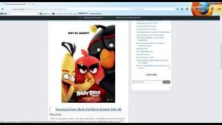 From Where To Download Angry Birds Movie 2016 For FREE NO SIGN UP NO LOGIN