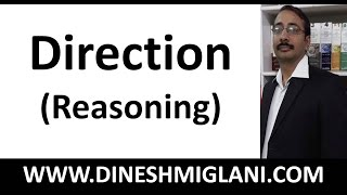Best Shortcuts and Tricks on Direction Sense (Reasoning) Concepts by Dinesh Miglani