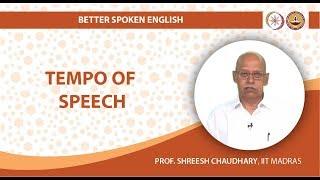 Tempo of Speech