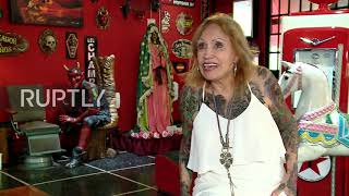Octogenarian Argentine grandma covers entire body in tattoos