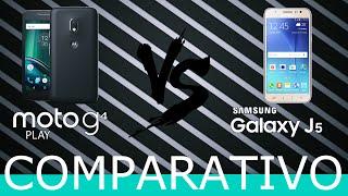 COMPARATIVO: Moto G4 Play vs Galaxy J5 - TecNoob