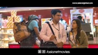 Bangalore Days - Nivin Pauly,Dulquer and Nazriya at Airport Scene