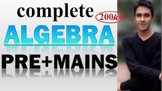 ALGEBRA : SHORTCUTS & TRICKS || Algebra for SSC CGL / CPO / CHSL