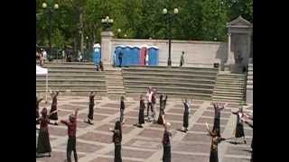 Messianic Dance - Adonai / Song by: Paul Wilbur / ICD @ National Day Of Prayer, Denver Co. 5/3/12