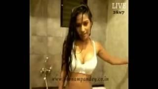 Poonam pandey hot in Bathroom